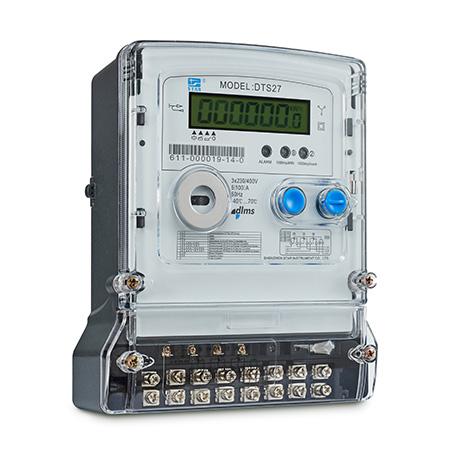 DTS27-F Medidor electrónico trifásico
