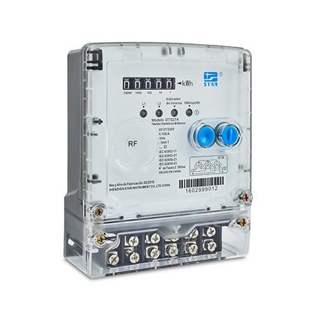 DTS27A-B  Medidor electrónico polifásico