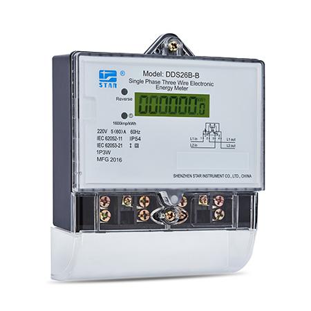DDS26B-B Medidor electrónico monofásico