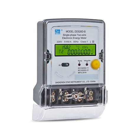 DDS26D-B Medidor electrónico monofásico