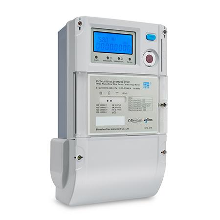 DTSY23 Medidor electrónico trifásico